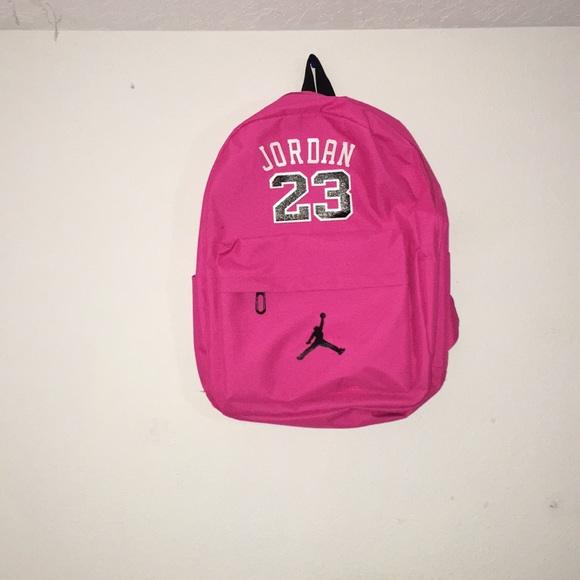 10a6da3ed9 Jordan Handbags - Pink Jordan backpack